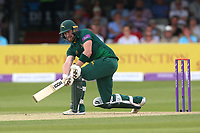 Riki Wessels in batting action for Notts during Essex Eagles vs Notts Outlaws, Royal London One-Day Cup Semi-Final Cricket at The Cloudfm County Ground on 16th June 2017