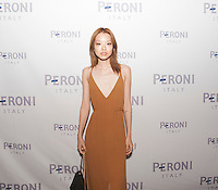 Victoria Kim attends Gia Coppola x Peroni Grazie Cinema Series on July 28, 2015 (Photo by Nathan Telea/Guest of A Guest)