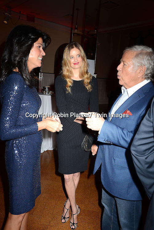 Maureen Reidy, Ricki Lander and Robert Kraft attend The Paley Center for Media's Annual Benefit Dinner honoring ESPN' s 35th Anniversary on May 28, 2014 at 583 Park Avenue in New York City, NY, USA.