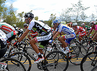 COLOMBIA. 08-08-2014. Juan Pablo Suarez (#3) durante la etapa 3, Barbosa – Chiquinquirá – Tunja – 123.2 Km, de la Vuelta a Colombia 2014 en bicicleta que se cumple entre el 6 y el 17 de agosto de 2014. / Juan Pablo Suarez (#3) cyclist during the stage 3, Barbosa – Chiquinquira – Tunja – 123.2 Km, of the Tour of Colombia 2014 in bike holds between 6 and 17 of August 2014. Photo:  VizzorImage/ José Miguel Palencia / Str