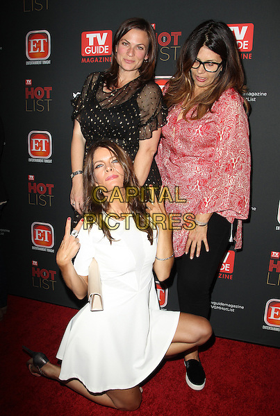 HOLLYWOOD, CA - NOVEMBER 4: Paige Dorian, Michelle Stafford, Paige Long at TV Guide Magazine's Hot List Party at The Emerson Theatre on November 4th, 2013 in Hollywood, California, USA.<br /> CAP/ADM/KB<br /> &copy;Kevan Brooks/AdMedia/Capital Pictures