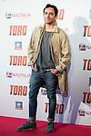 """Jorge Dorado attends to the premiere of the spanish film """"Toro"""" at Kinepolis Cinemas in Madrid. April 20, 2016. (ALTERPHOTOS/Borja B.Hojas)"""