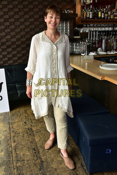 LONDON, ENGLAND - JULY 02: Caroline Lucas attend the Artists Against TTIP Photocall at the Young Vic Theatre on July 2, 2015 in London, England&hellip;<br /> CAP/JOR<br /> &copy;JOR/Capital Pictures