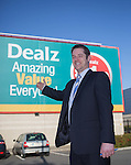 Dealz Fonthill Road . Staff Members .  Store Manager Ian Kendellen .