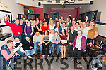 Peter Hawkins, Tralee celebrates his 50th Birthday with family and friends at Slieve Mish Bar on Saturday