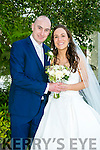 Maura O'Connor, Castlegregory, daughter of Rarthley and Rita O'Connor, and Alan Curley, Westmeath, son of Matthew and Rose Curley, were married at St. Mary's Church, Castlegregory by Fr. Michael Hussey on Saturday 9th July 2016 with a reception at Ballygarry House hotel