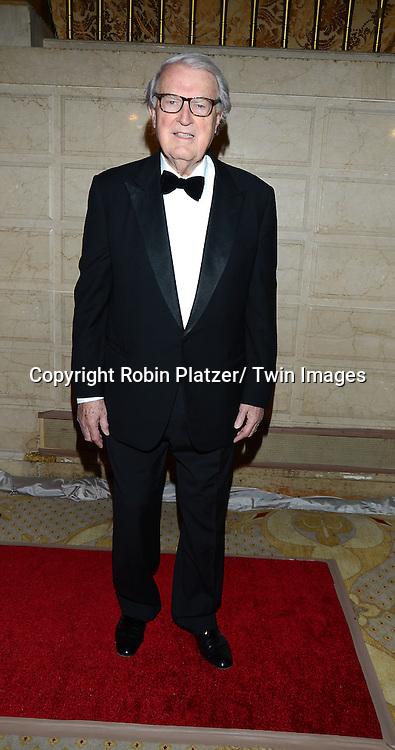 honoree William vanden Heuvel attends the New York Landmarks Consevancy's 20th Annual Living Landmarks Celebration on November 14, 2013 at the Plaza Hotel in New York City.
