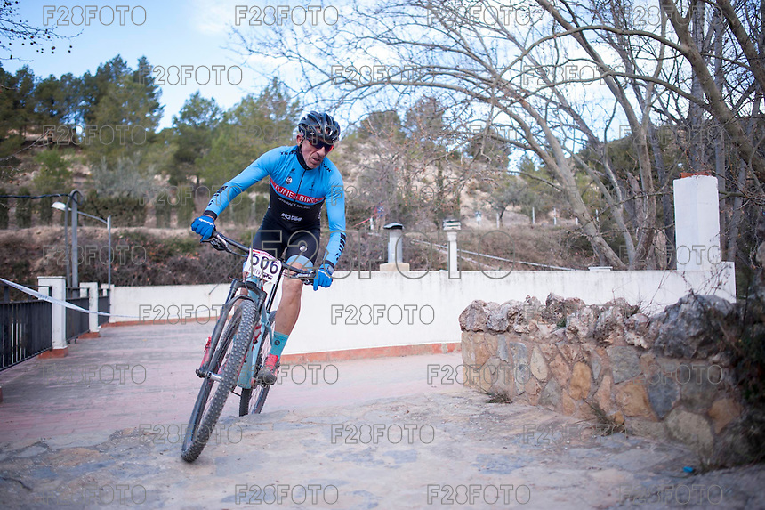 Chelva, SPAIN - MARCH 6: Abelardo Martinez during Spanish Open BTT XCO on March 6, 2016 in Chelva, Spain