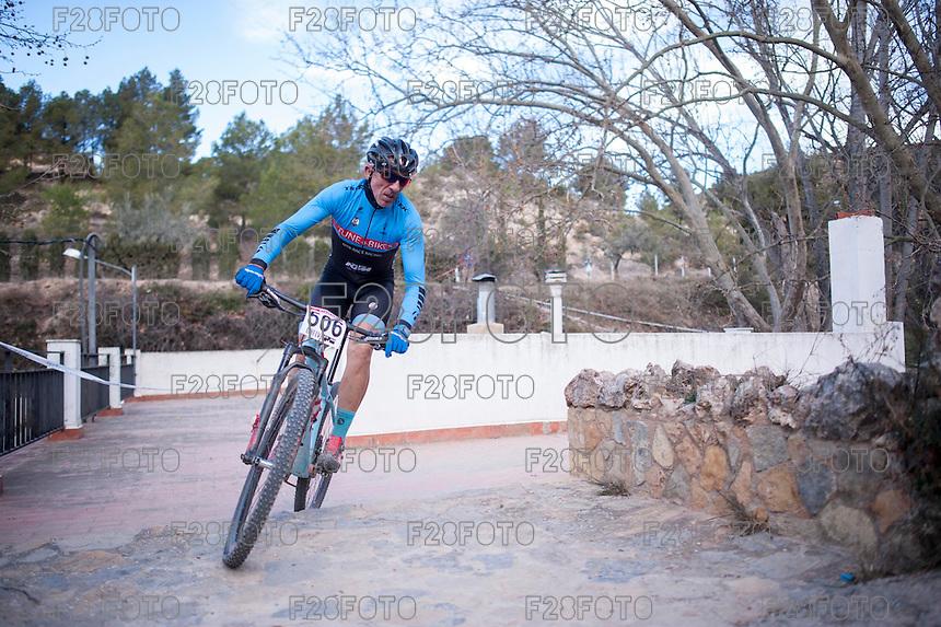 Chelva, SPAIN - MARCH 6: Abelardo Martinez during Spanish Open BTT XCO on March 6, 2016 in Chelva, Spain
