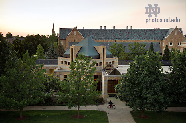 June 26, 2012; Hesburgh Center..Photo by Matt Cashore/University of Notre Dame