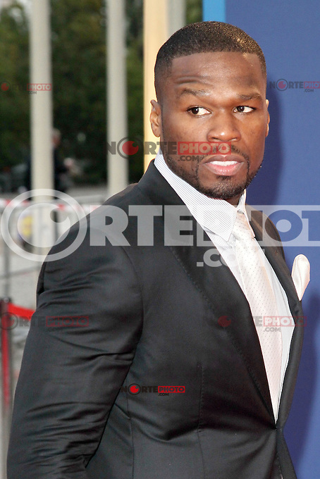 """August 30, 2012: 50 Cent aka Curtis James Jackson attends the """"IFA Opening Gala"""" at the Palais am Funkturm. in Berlin, Germany. ..Credit: © AFG / MediaPunch Inc."""