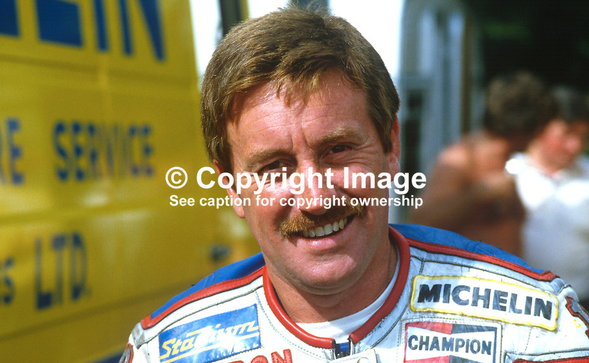 Mick Grant, South Yorkshire, UK, racing motorcylist, 19840100MG1..Copyright Image from Victor Patterson, 54 Dorchester Park, Belfast, UK, BT9 6RJ..Tel: +44 28 9066 1296.Mob: +44 7802 353836.Voicemail +44 20 8816 7153.Skype: victorpattersonbelfast.Email: victorpatterson@me.com.Email: victorpatterson@ireland.com (back-up)..IMPORTANT: If you wish to use this image or any other of my images please go to www.victorpatterson.com and click on the Terms & Conditions. Then contact me by email or phone with the reference number(s) of the image(s) concerned.