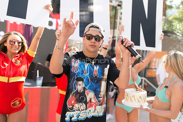 LAS VEGAS, NV - April 8, 2017: ***HOUSE COVERAGE***  Austin Mahone 21st Birthday  at REHAB Pool Party at Hard Rock Hotel & Casino in Las vegas, NV on April 8, 2017. Credit: GDP Photos/ MediaPunch