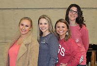 Nadia Coleman (from left), Stephanie Oswald, Kaitlyn Duncan and Casi Shanks volunteer at Chilirhea.<br /> (Arkansas Democrat-Gazette/Carin Schoppmeyer)