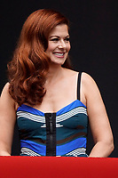 """LOS ANGELES - AUG 2:  Debra Messing at the """"Will & Grace"""" Start of Production Kick Off Event at the Universal Studios on August 2, 2017 in Universal City, CA"""
