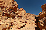 Israel, the Negev desert. Ada Canyon in Wadi Paran