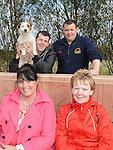Stephen McKee, Brendan Cumiskey, Amanda Hughes and Tessie Connolly pictured at the Boyne Fishermans Rescue and Recovery open day. Photo: Colin Bell/pressphotos.ie