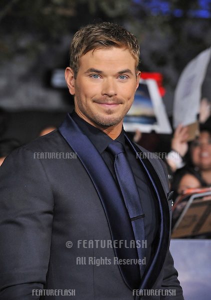 "Kellan Lutz at the world premiere of his movie ""The Twilight Saga: Breaking Dawn - Part 2"" at the Nokia Theatre LA Live..November 12, 2012  Los Angeles, CA.Picture: Paul Smith / Featureflash"