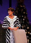 """As The World Turns' Colleen Zenk stars in """"Other Desert Cities"""" at the tech rehearsal (in costume) on October 14, 2015 atr Whippoorwill Halll Thetre, North Castle Library, Kent Place, Armonk, New York.  (Photo by Sue Coflin/Max Photos)"""