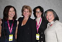 LOS ANGELES, CA - NOVEMBER 2: Sharon Waxman, Ariel Wengroff, Tina Tchen, at TheWrap's Power Women's Summit Inside at the InterContinental Hotel in Los Angeles, California on November 2, 2018. Credit: Faye Sadou/MediaPunch