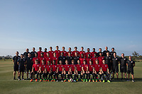 USMNT U-17 Team Photo and Head Shots, April 17, 2017
