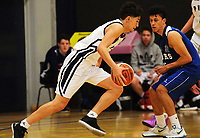Action from the 2017 Zone 3 AA Secondary Schools basketball premierships boys match between Palmerston North Boys' High School and Napier Boys' High School at Arena Manawatu in Palmerston North, New Zealand on Friday, 8 September 2017. Photo: Dave Lintott / lintottphoto.co.nz