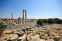 Didyma was an ancient Ionian sanctuary, the modern Didim, Turkey, containing a temple and oracle of Apollo, the Didymaion.