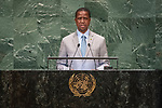 DSG meeting<br /> <br /> AM Plenary General DebateHis<br /> <br /> <br /> His Excellency Edgar Chagwa LUNGU President of the Republic of Zambia