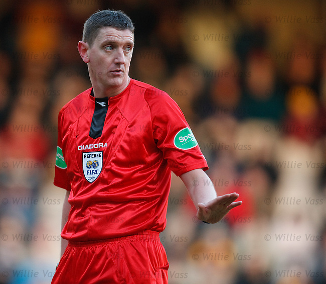 Referee Craig Thomson