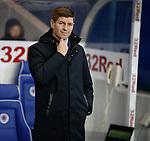 05.02.2020 Rangers v Hibs: Steven Gerrard