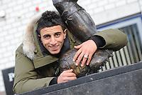 VOETBAL: HEERENVEEN: Abe Lenstra Stadion,  22-11-13, Heerenveen-debutant Bilal Basacikoglu, ©foto Martin de Jong