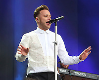 Olly Murs performs at the Barclaycard British Summer Time at Hyde Park, London on July 9th 2016<br /> CAP/ROS<br /> &copy;Steve Ross/Capital Pictures /MediaPunch ***NORTH AND SOUTH AMERICAS ONLY***