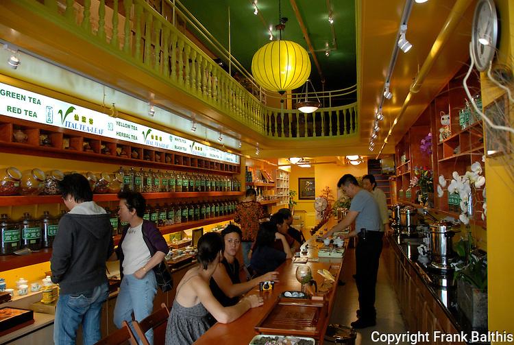 Tea shop in Chinatown