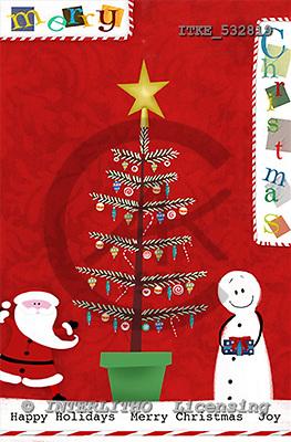 Isabella, CHRISTMAS SANTA, SNOWMAN, paintings, ITKE532819,#x# Weihnachtsmänner, Schneemänner, Weihnachen, Papá Noel, muñecos de nieve, Navidad, illustrations, pinturas