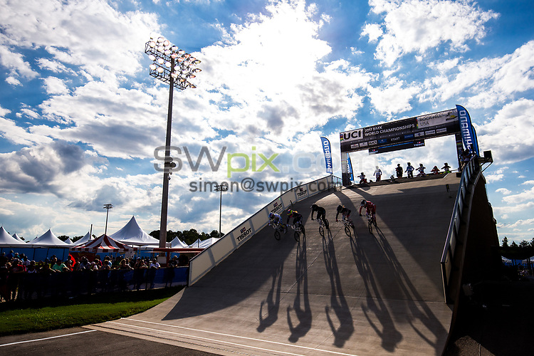 Picture by Alex Whitehead/SWpix.com - 29/07/2017 - Cycling - 2017 UCI BMX World Championships - Novant Health BMX Supercross Track, Rock Hill, USA -