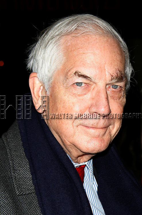 Anthony Marshall (son of Brooke Astor) <br /> Arriving for the Opening Night Performance of  THE HOMECOMING at the Cort Theatre in New York City.<br /> December 16, 2007