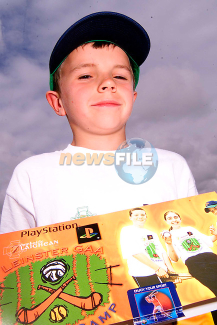 Peter Lynch from Ruthstown at the GAA Summer Camp in Ardee..Picture: Paul Mohan/Newsfile