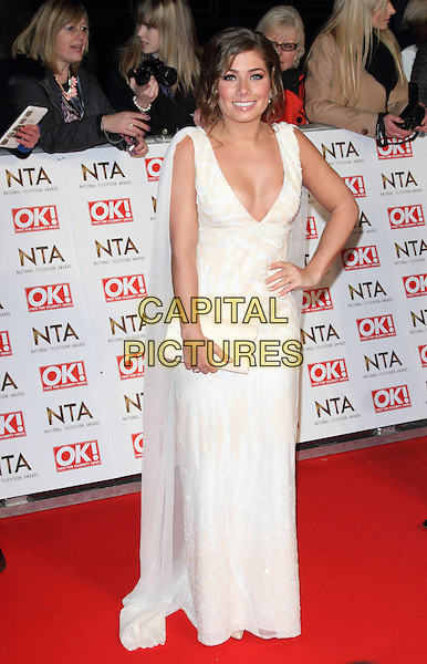 LONDON, ENGLAND - JANUARY 21: Nikki Sanderson attends the National Television Awards at 02 Arena on January 21, 2015 in London, England<br /> CAP/ROS<br /> &copy;Steve Ross/Capital Pictures