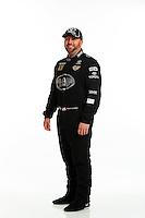 Jan 15, 2014; Palm Beach Gardens, FL, USA; NHRA top fuel driver Shawn Langdon poses for a portrait. Mandatory Credit: Mark J. Rebilas-