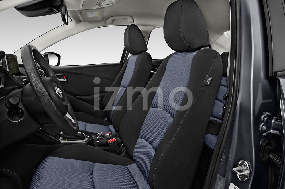Front seat view of a 2018 Toyota Yaris LE 4 Door Sedan front seat car photos