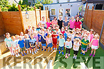 Picture here on Wednesday the Pre School children from Puffins Child Care Cahersiveen on their last day before summer break. Full Day Care service and Summer Camps will run through out July & August.