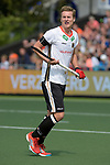 NED - Amsterdam, Netherlands, August 20: During the men Pool B group match between Germany (white) and Ireland (green) at the Rabo EuroHockey Championships 2017 August 20, 2017 at Wagener Stadium in Amsterdam, Netherlands. Final score 1-1. (Photo by Dirk Markgraf / www.265-images.com) *** Local caption *** Mathias Mueller #2 of Germany