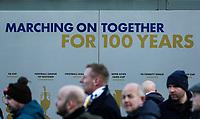 Fans arrive at Elland Road, home of Leeds United<br /> <br /> Photographer Alex Dodd/CameraSport<br /> <br /> The EFL Sky Bet Championship - Leeds United v Middlesbrough - Saturday 30th November 2019 - Elland Road - Leeds<br /> <br /> World Copyright © 2019 CameraSport. All rights reserved. 43 Linden Ave. Countesthorpe. Leicester. England. LE8 5PG - Tel: +44 (0) 116 277 4147 - admin@camerasport.com - www.camerasport.com