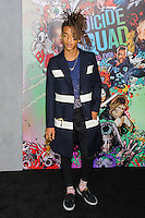 "01 August 2016 - New York, New York - Jaden Smith. ""Suicide Squad"" World Premiere. Photo Credit: Mario Santoro/AdMedia"
