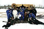 Alexander Abdulov on Festival Duh Ognya. 2003. / Актер Александр Абдулов (в центре) на Международном кинофестивале Дух Огня. г. Ханты-Мансийск. 2003 г.; Россия.