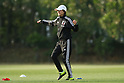 Soccer : Japan Women's National team training camp