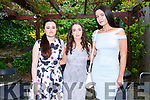 At the Brookfield College Graduation in the Ballyroe Heights Hotel on Thursday were Nell Moore Ryan, Natasha McAuliffe and Ciara Griffin