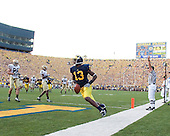 9/12/09 Michigan football victory over Notre Dame.