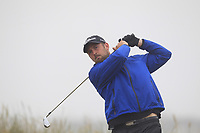 Christopher Barber (Portstewart) on the 1st tee during Round 1 - Matchplay of the North of Ireland Championship at Royal Portrush Golf Club, Portrush, Co. Antrim on Wednesday 11th July 2018.<br /> Picture:  Thos Caffrey / Golffile