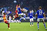 06.11.2018, VELTINS Arena, Gelsenkirchen, Deutschland, GER, UEFA Champions League, Gruppenphase, Gruppe D, FC Schalke 04 vs. Galatasaray Istanbul<br /> <br /> DFL REGULATIONS PROHIBIT ANY USE OF PHOTOGRAPHS AS IMAGE SEQUENCES AND/OR QUASI-VIDEO.<br /> <br /> im Bild Zweikampf zwischen Amine Harit (#25 Schalke) und Younes Belhanda (#10 Istanbul)<br /> <br /> Foto &copy; nordphoto / Kurth